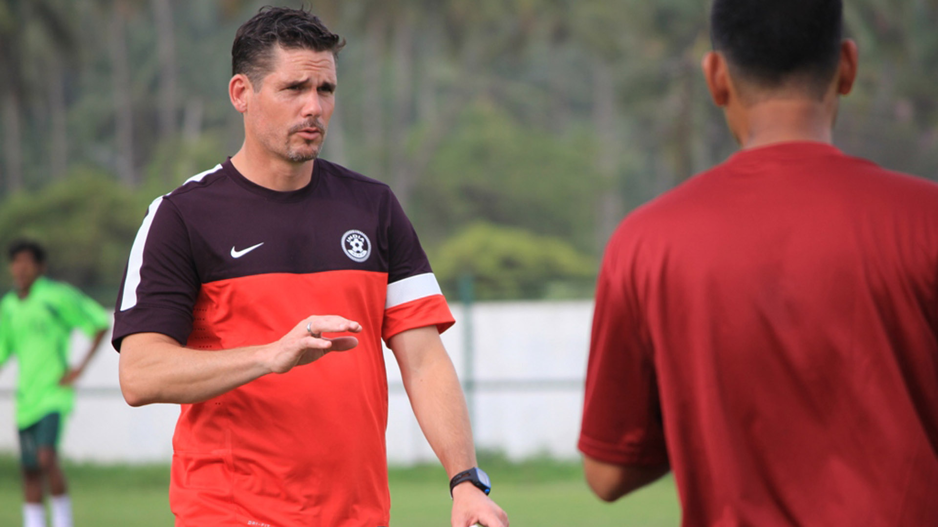 Nicolai Adam India U-17 coach
