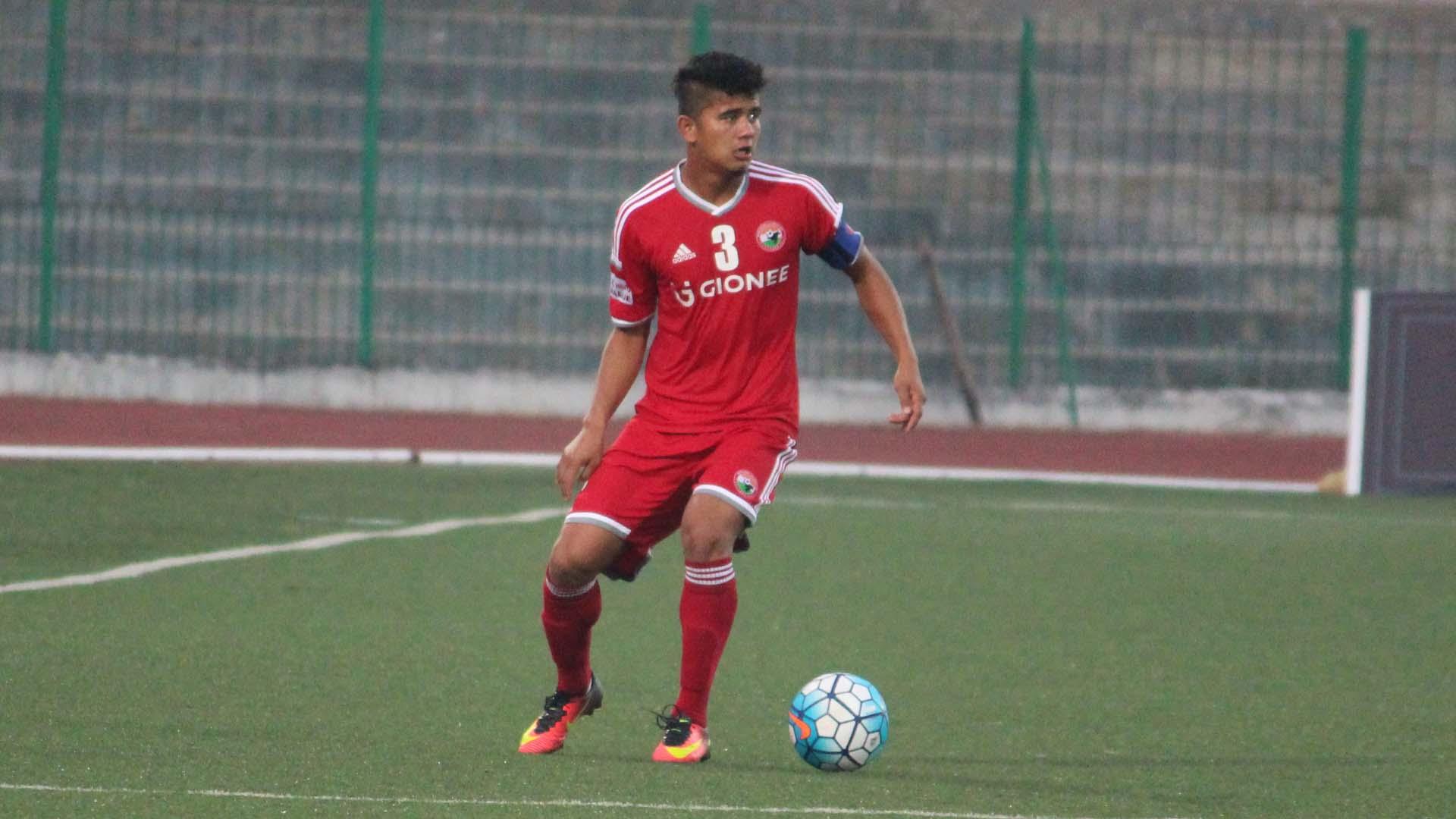 Nim Dorjee Tamang Shillong Lajong FC Minerva Punjab FC I-League 2017