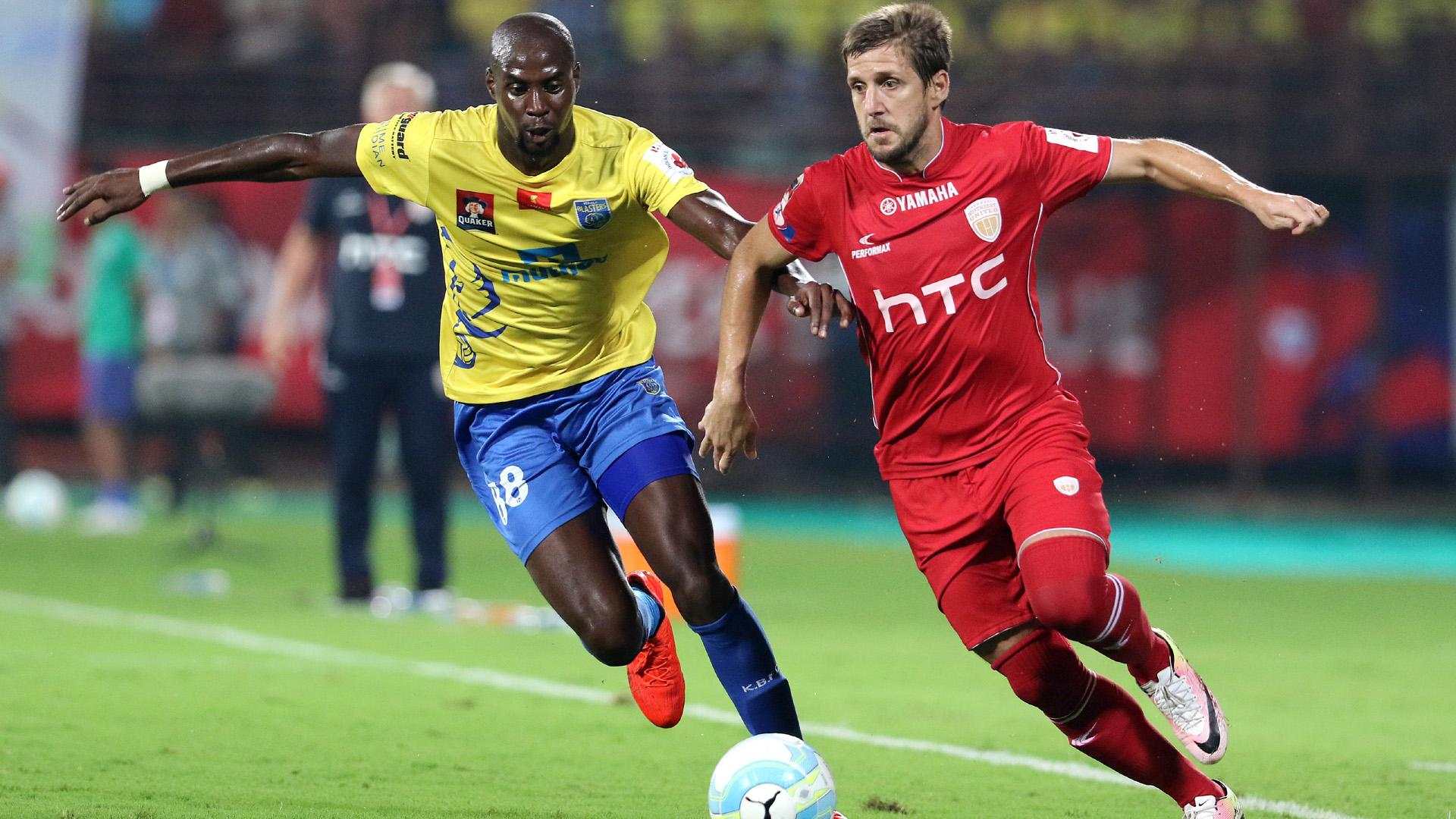 Azrack Mahamat Emiliano Alfaro Kerala Blasters FC NorthEast United FC ISL season 3 2016