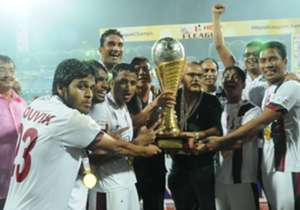 Mohun Bagan lefted their maiden I-League title, courtesy of their 1-1 draw against Bengaluru FC