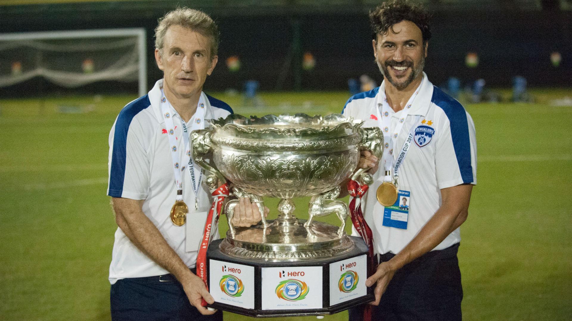 Albert Roca Carles Cuadrat Bengaluru FC Mohun Bagan Federation Cup Final 2017
