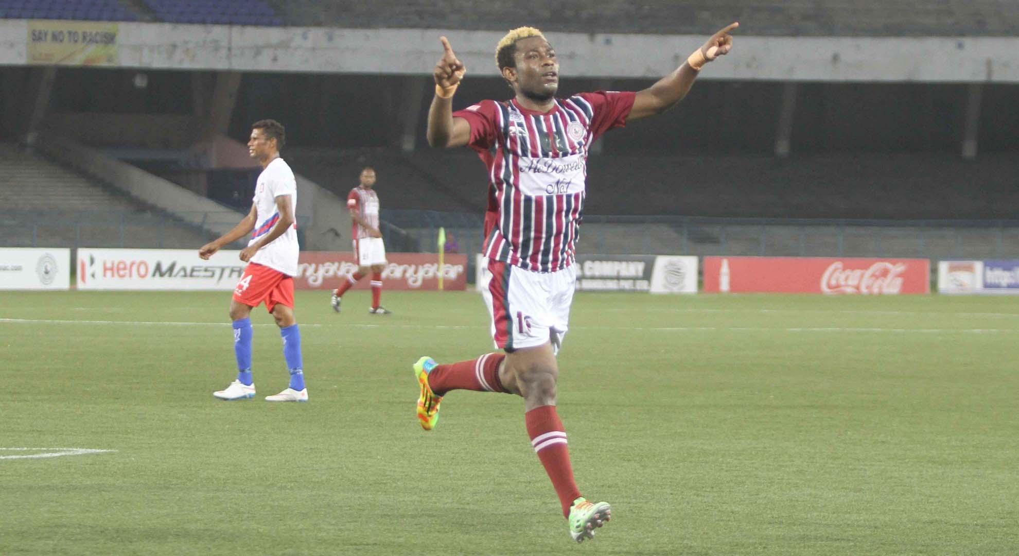 Sony Norde Mohun Bagan Bharat FC I-League 11042015