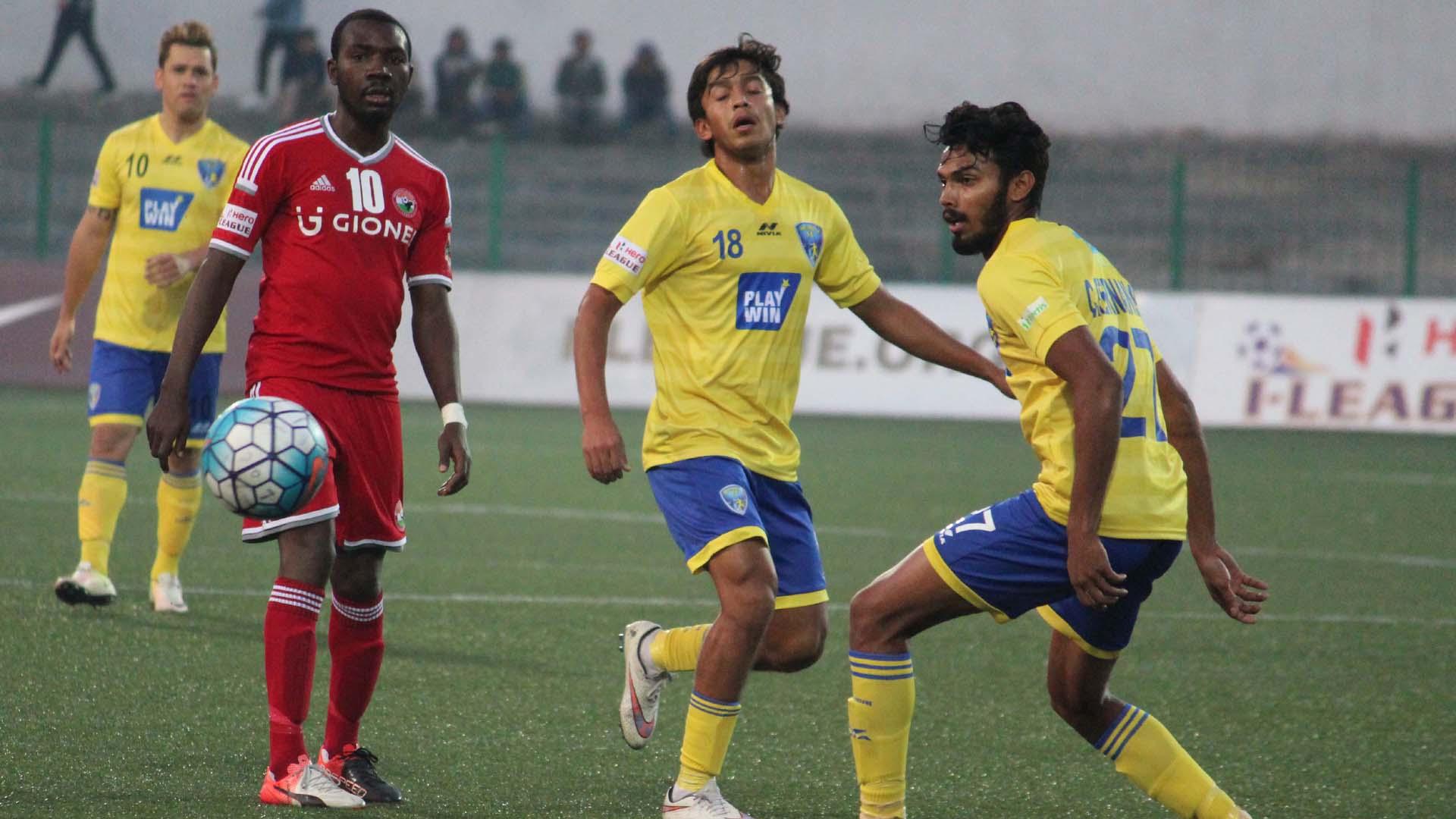 Clyde Fernandes Hitesh Sharma Dipanda Shillong Lajong FC Mumbai FC I-League 2017