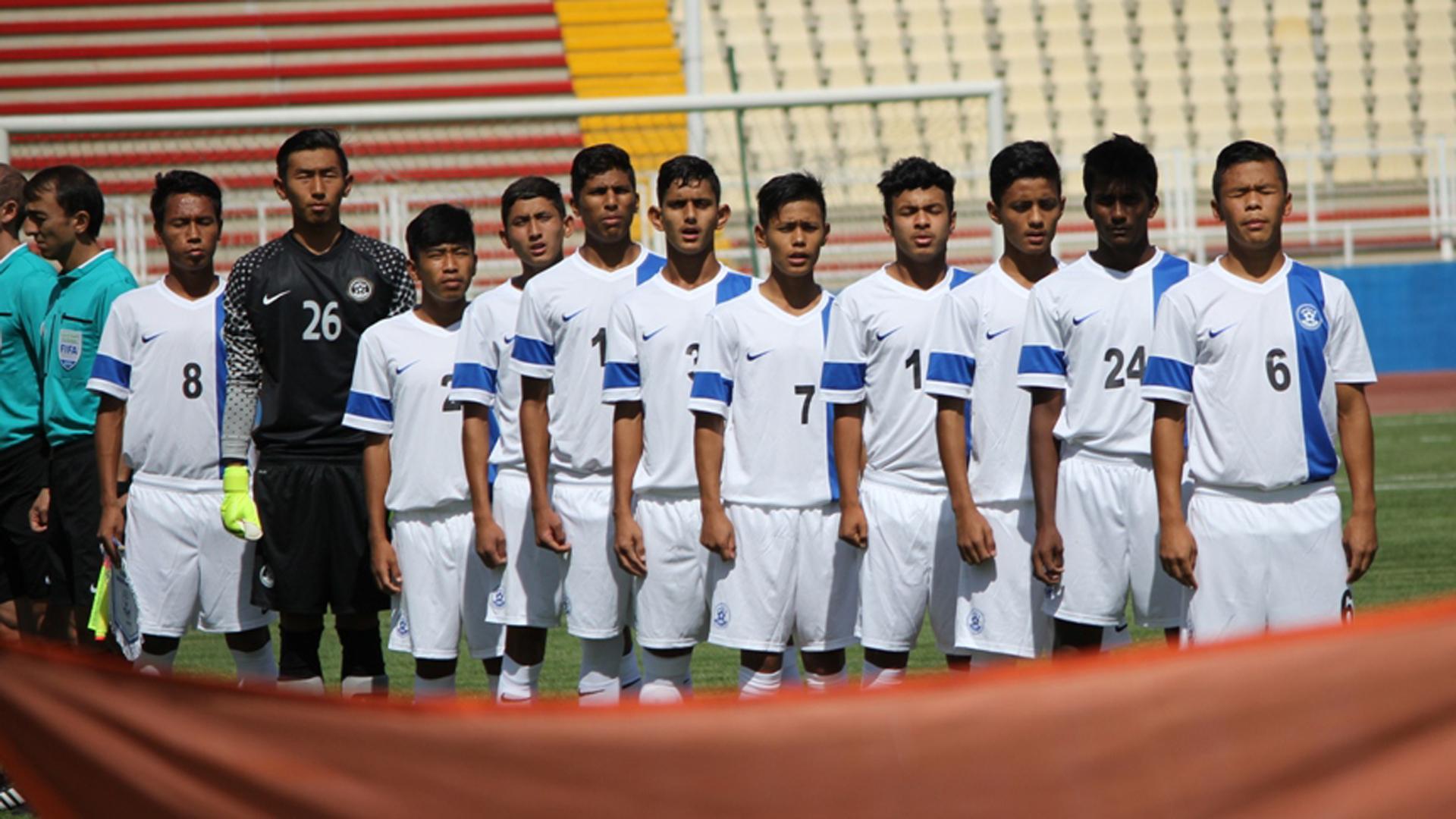 India U-16 squad