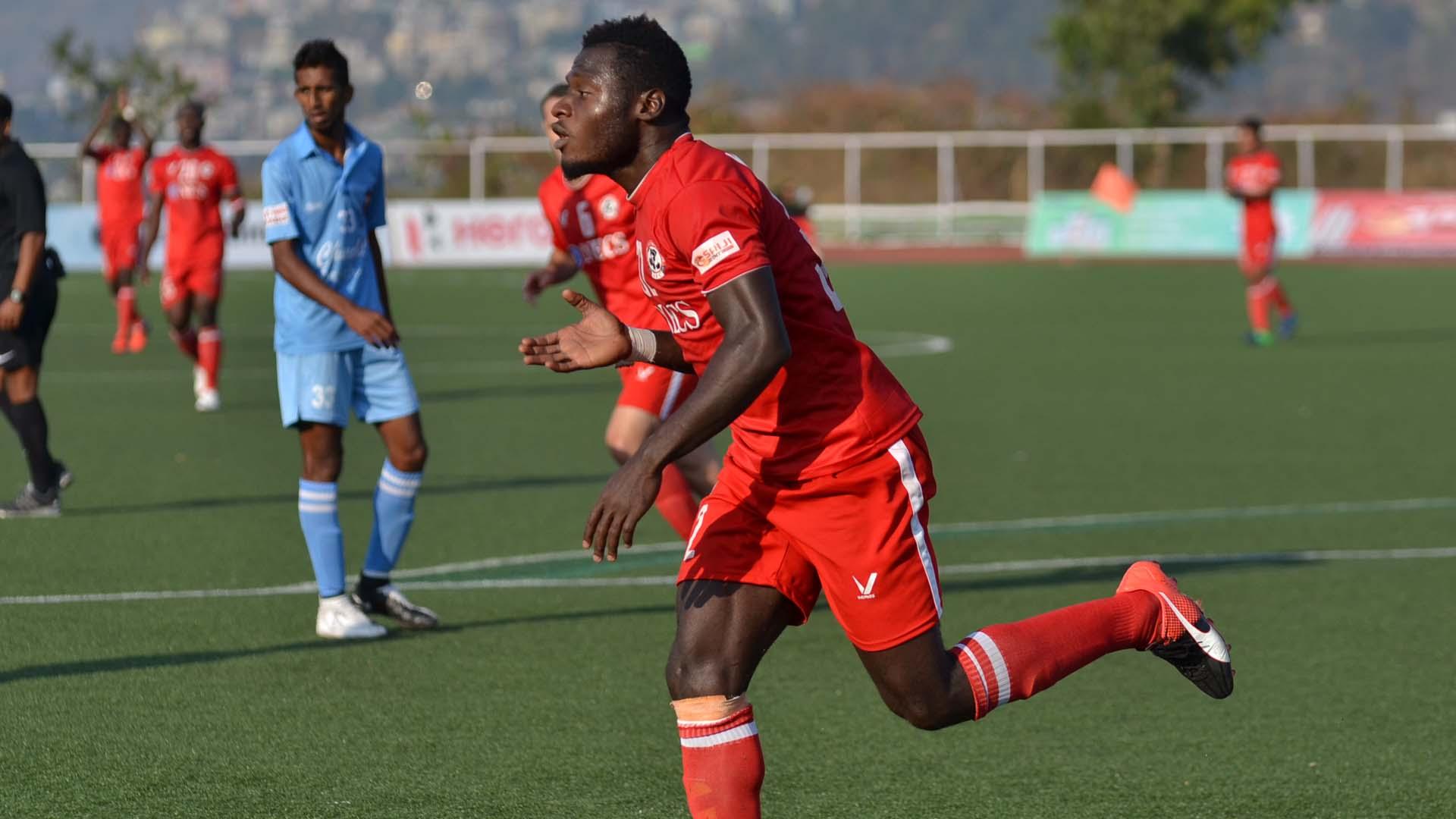 Kamo Stephane Bayi Aizawl FC Churchill Brothers SC I-League 2017