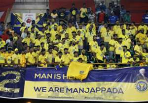 Kerala Blasters FC supporters during match against ISL season 3 2016