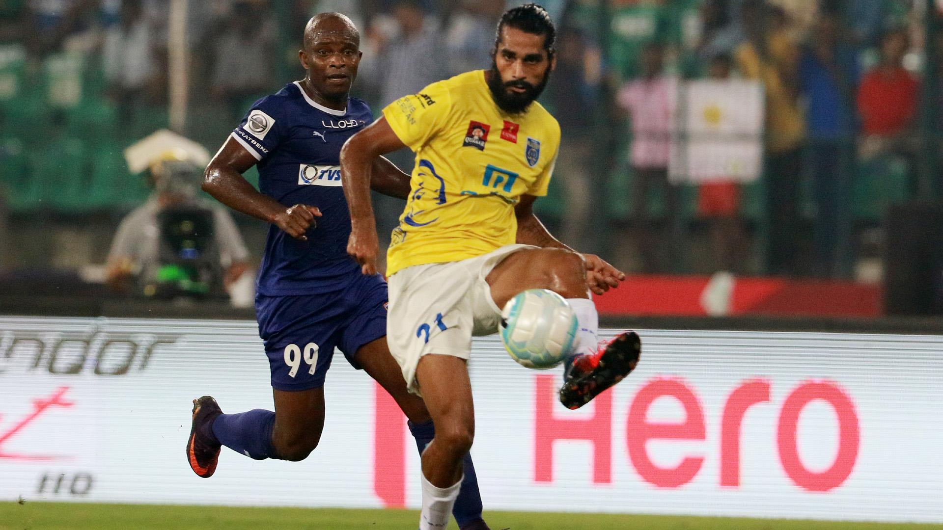 Sandesh Jhingan Chennaiyin FC Kerala Blasters FC ISL season 3 2016