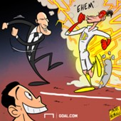 Cartoon Bale's return