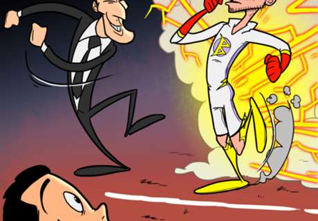 Cartoon: Furioses Bale-Comeback