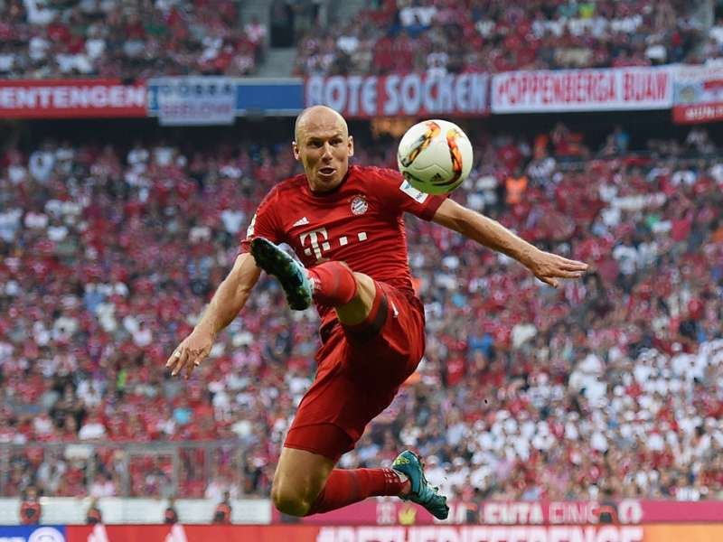Robben steps up Bayern Munich comeback