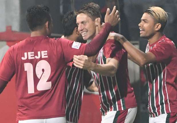 Bagan record easy win against Colombo to seal playoff berth