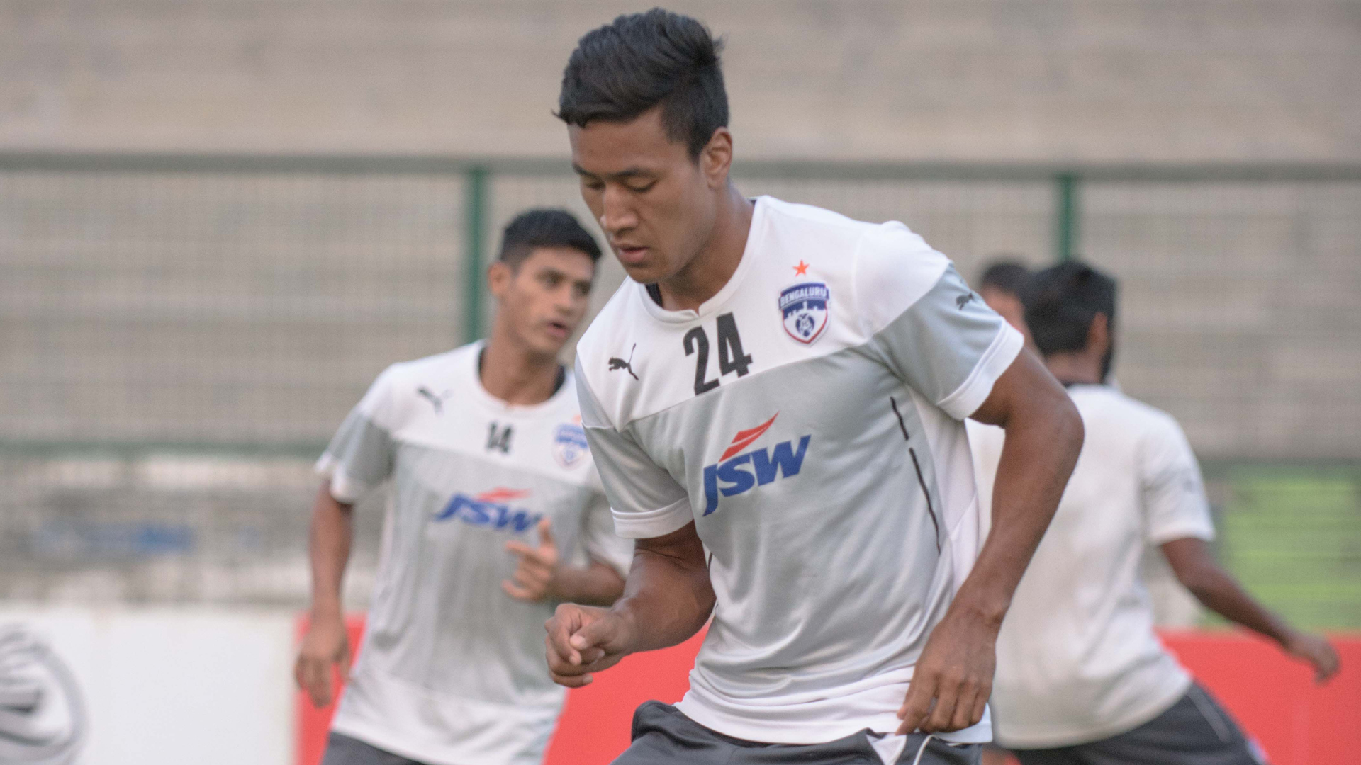 Salam Ranjan Bengaluru FC training session