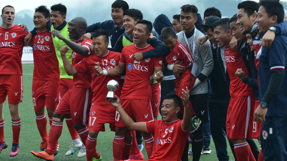 Aizawl FC crowned champions of I-League after draw against Shillong Lajong