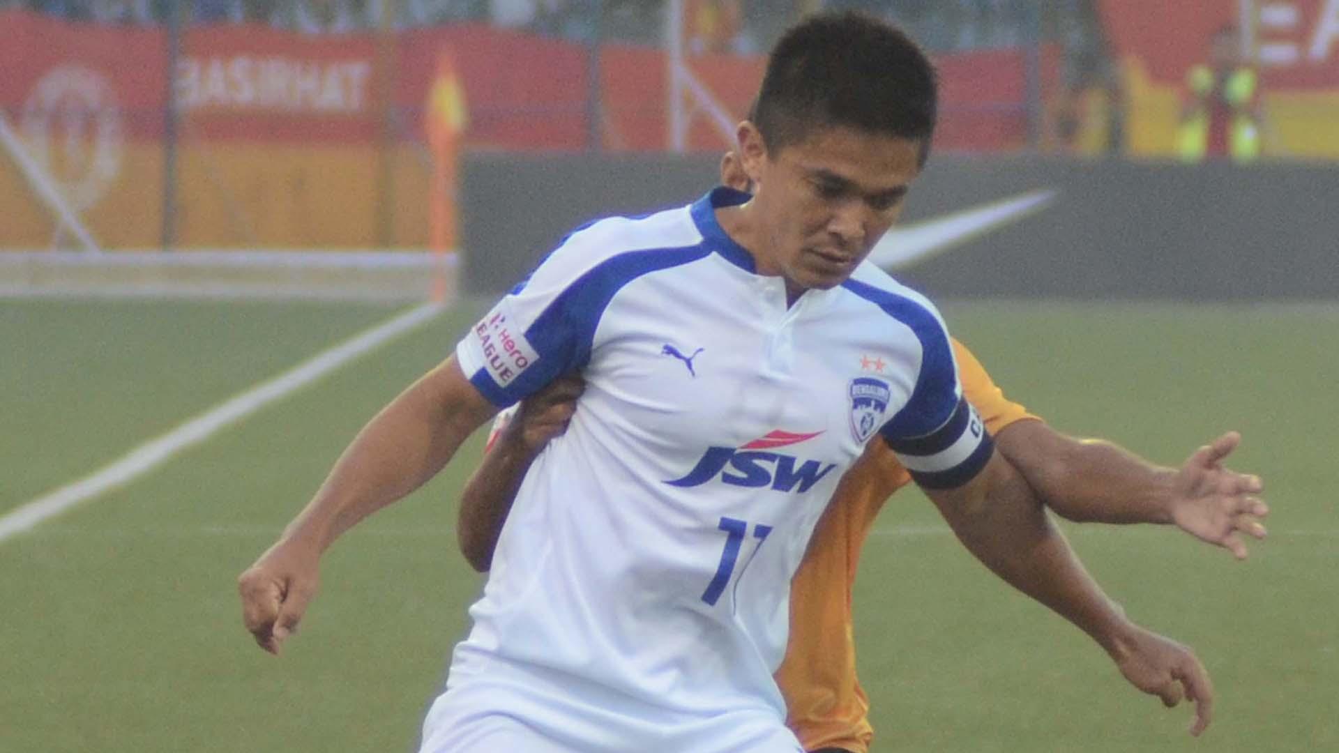 Sunil Chhetri East Bengal Bengaluru FC I-League 2017