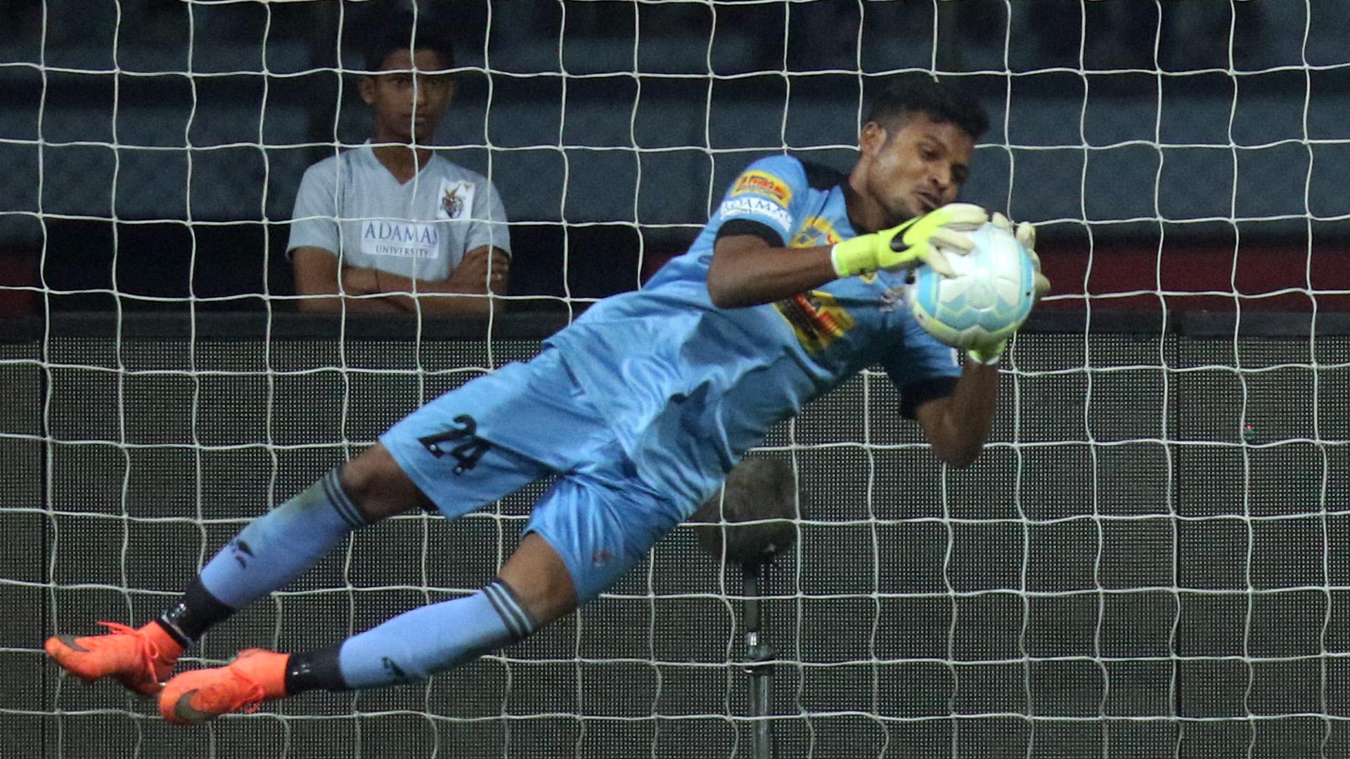 Debjit Majumder Atletico de Kolkata NorthEast United FC ISL season 3 2016