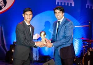 Midfielder Eugeneson Lyngdoh was the toast of the night when he bagged both, the Fans' Player of the Year as well as the Players' Player of the Year awards