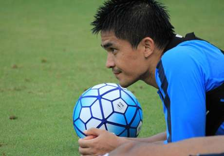 Chhetri on India's 6-1 win over Laos