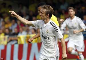 Luka Modric Real Villareal