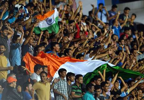 Gallery: India 1-2 Oman in pics