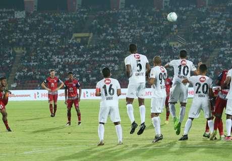 ISL 2017: NEUFC 0-0 Jamshedpur FC