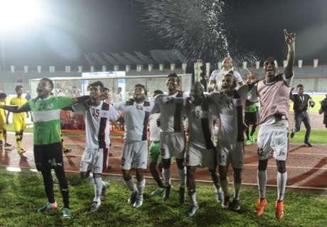 Fed Cup: Bagan 5-0 Aizawl FC