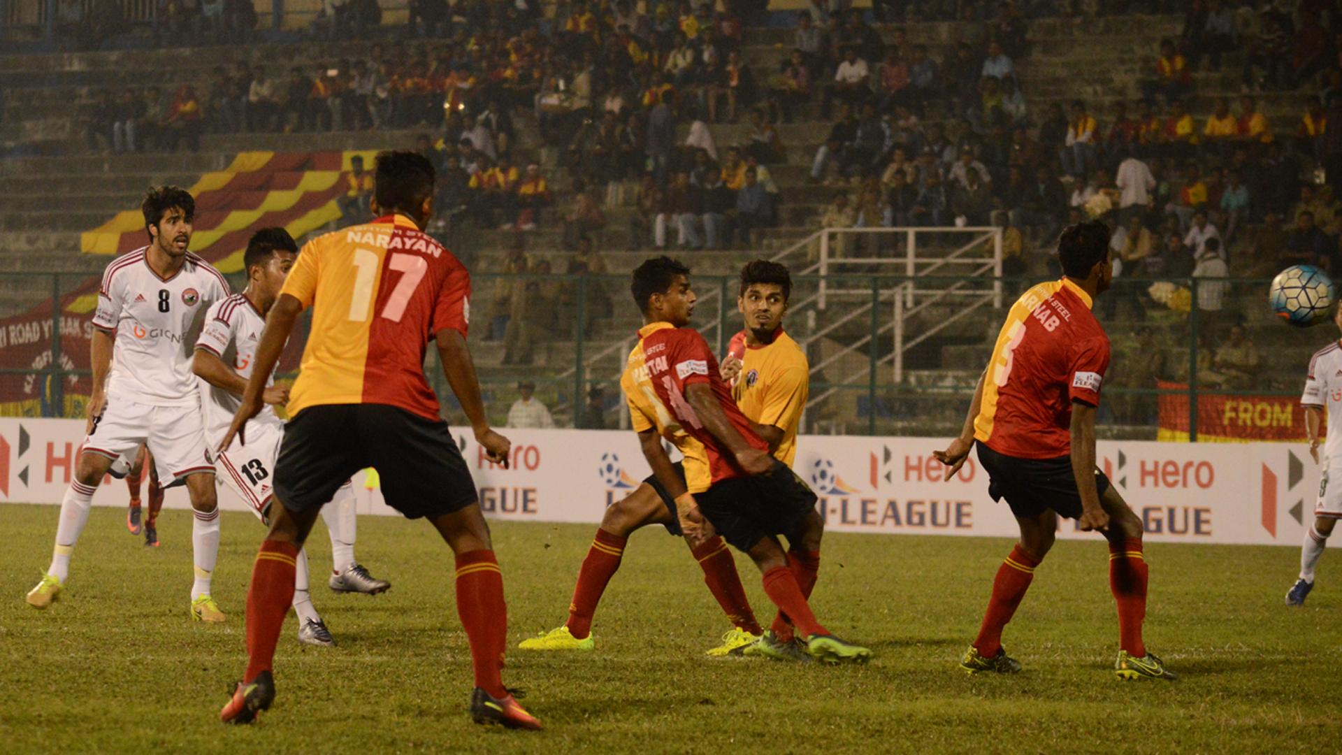 East Bengal 1 - 1 Shillong Lajong Match report - 15/02/17 ...