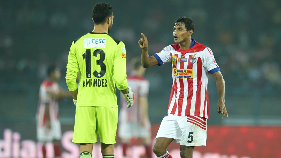 Amrinder Singh Arnab Mondal Atletico de Kolkata Chennaiyin FC ISL season 2