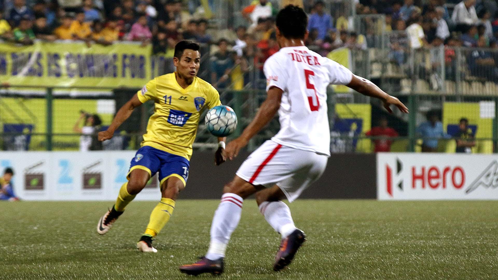 Thoi Singh Mumbai FC Aizawl FC I-League 2017