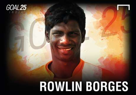 Goal 25 Rank 23: Rowllin Borges