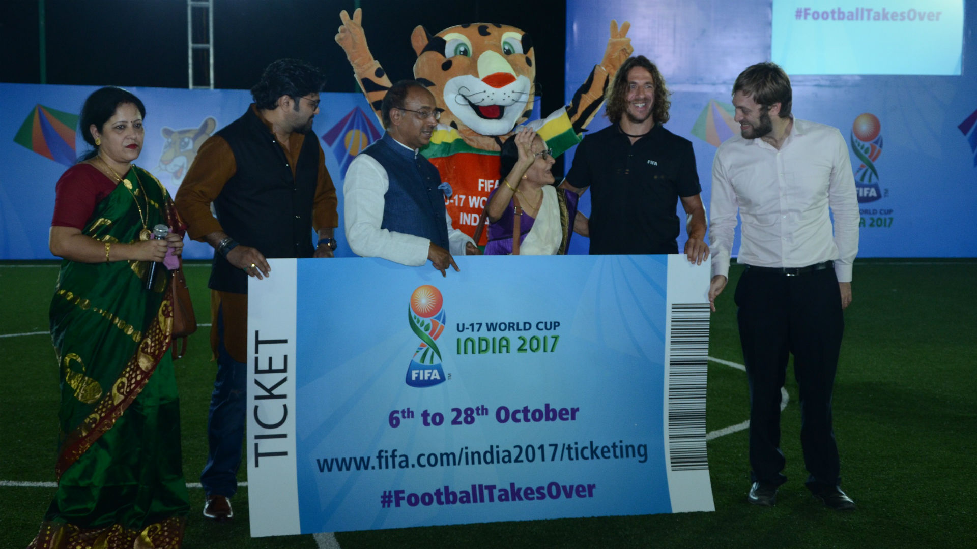 Carles Puyol FIFA U-17 World Cup India 2017
