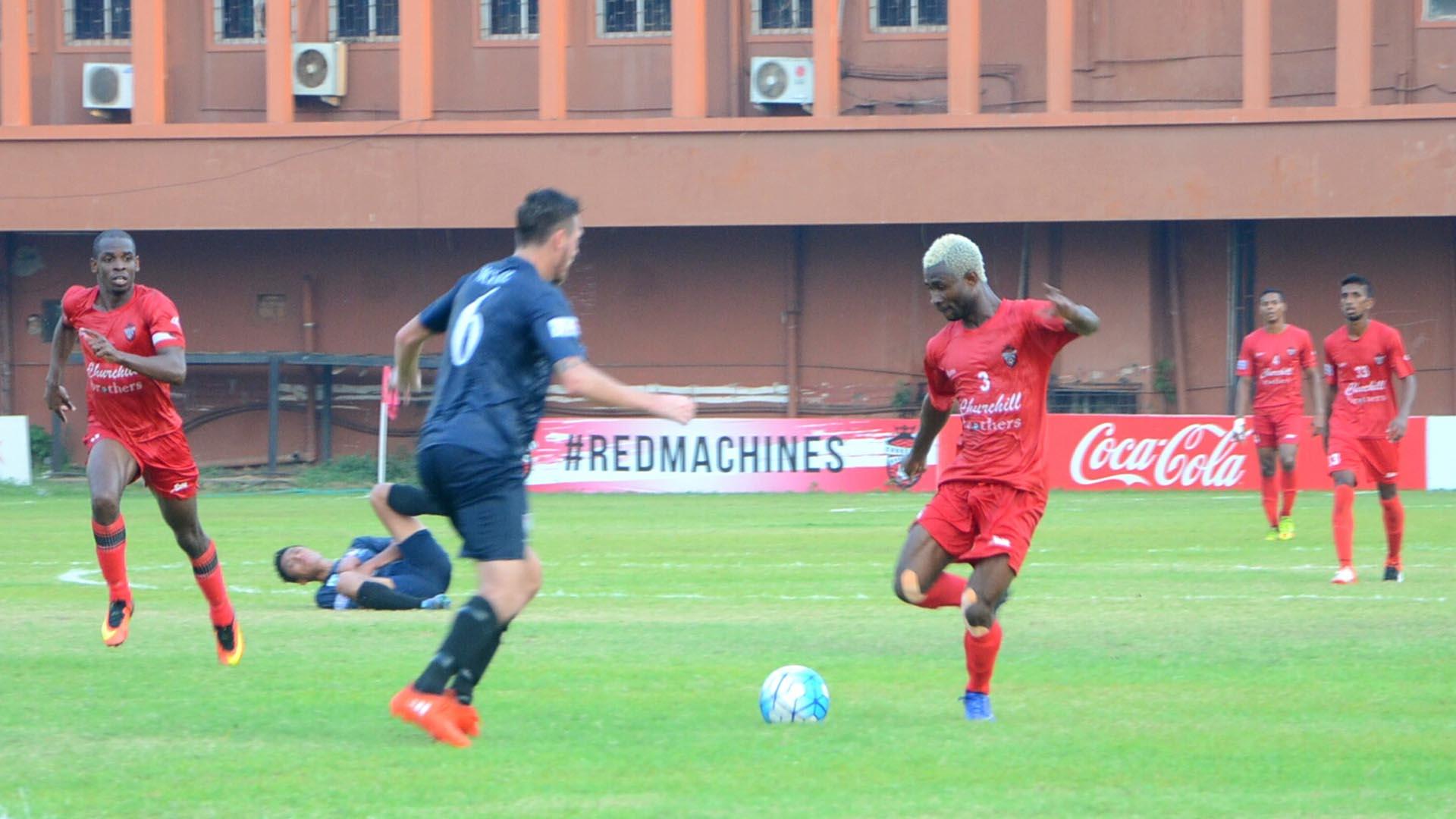 Ansumana Kromah Churchill Brothers SC DSK Shivajians FC I-League 2017