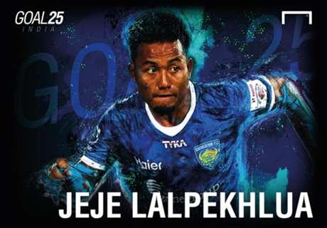 Goal 25 RANK 1: Jeje Lalpekhlua