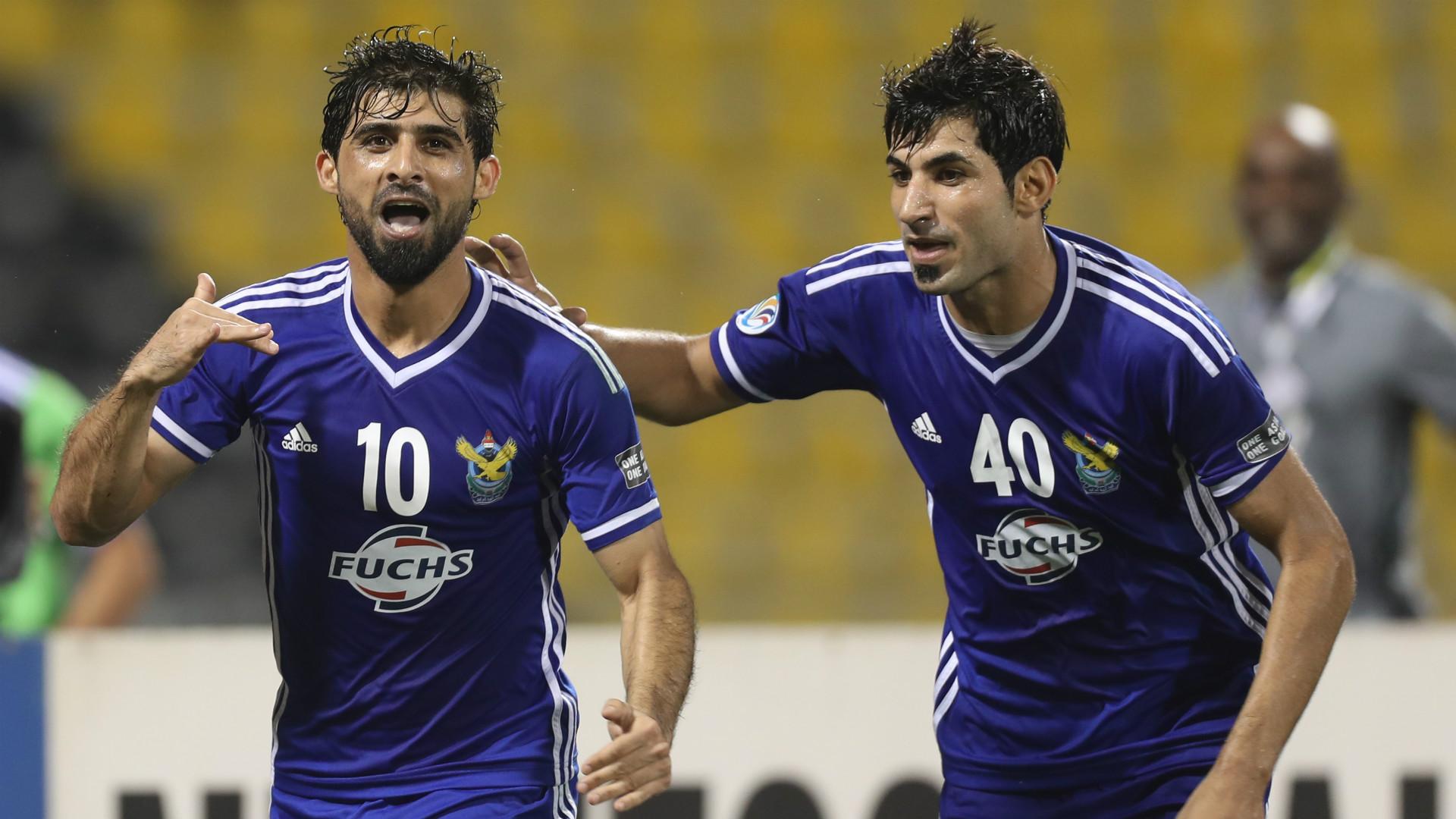 Hammadi Ahmed Abdullah Amjed Radhi Al-Quwa Al-Jawiya Bengaluru FC AFC Cup Final