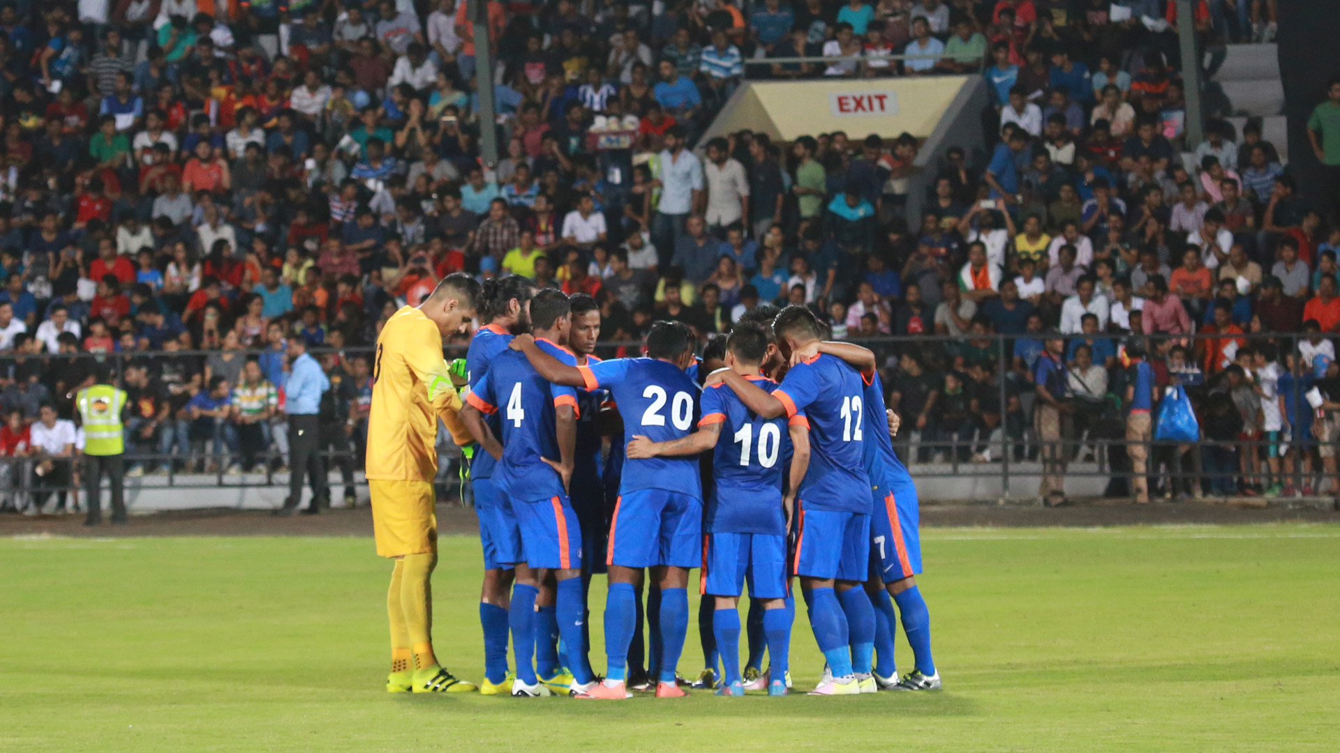 India down Myanmar in Asian Cup