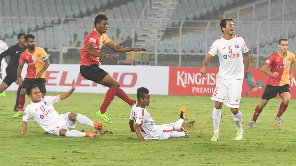 I-League 2017: Khalid Jamil's East Bengal plummet Aizawl ...