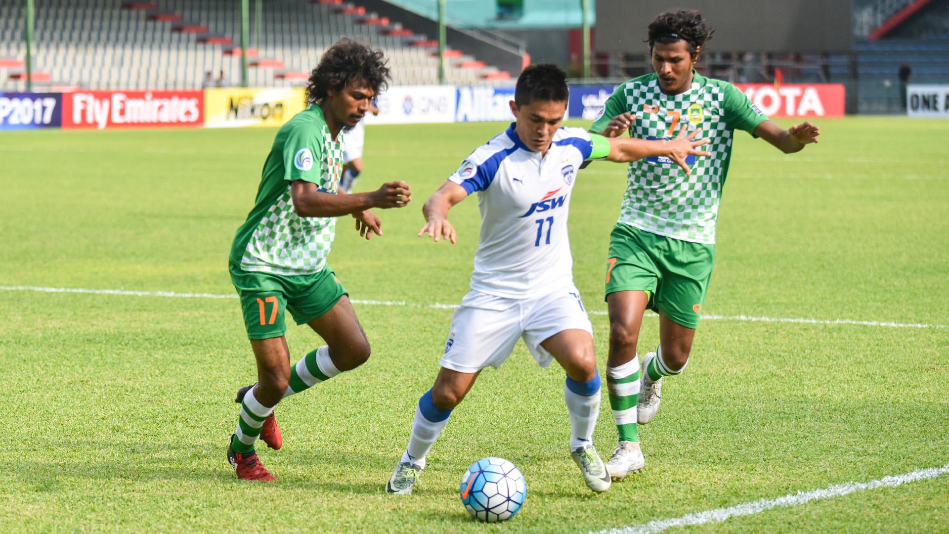 Sunil Chhetri Maziya Bengaluru FC AFC Cup Group Stage 2017