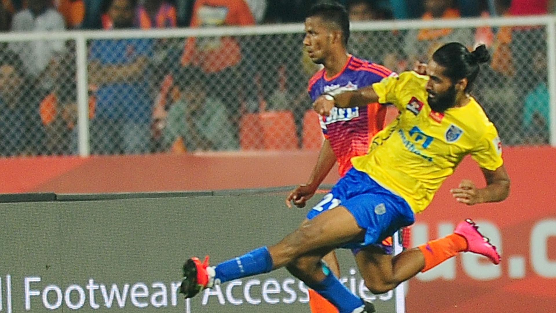 Sandesh Jhingan FC Pune City Kerala Blasters FC ISL season 3 2016