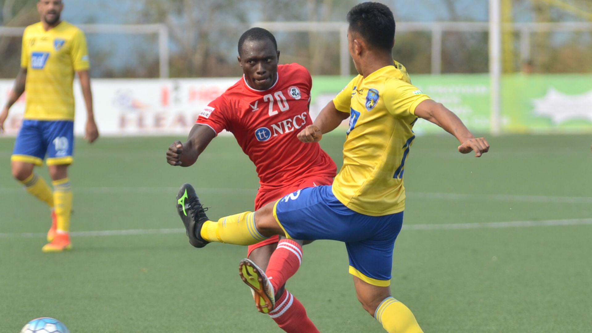 Alfred Jaryan Aizawl FC I-League 2017