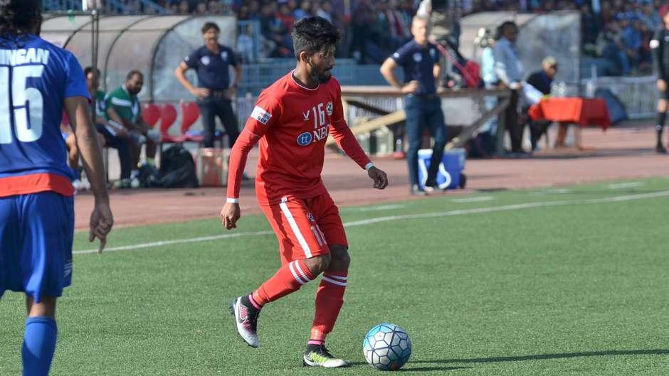 Jayesh Rane Aizawl FC Bengaluru FC I-League 2017 - Goal.com