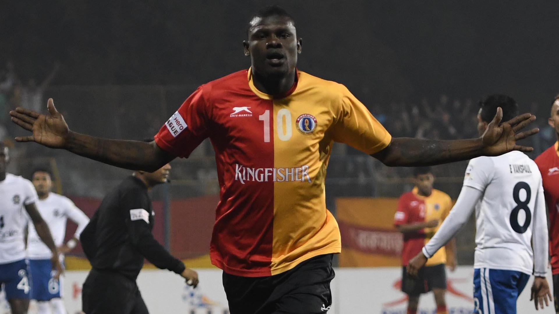 Wedson Anselme East Bengal Chennai City FC I-League 2017