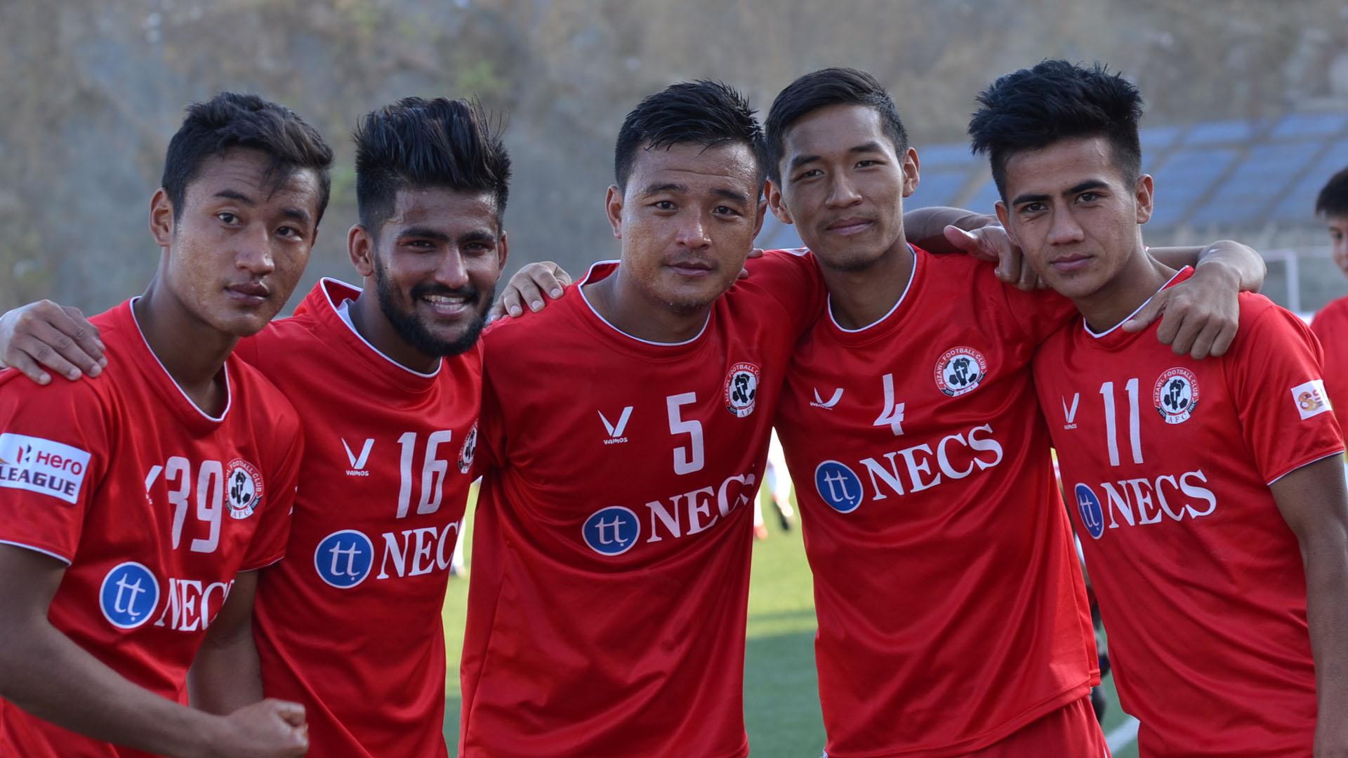 Lalruatthara Jayesh Rane Zohmingliana Ralte Lalrinzuala Khiangte Albert Zohmingmawia Aizawl FC I-League 2017