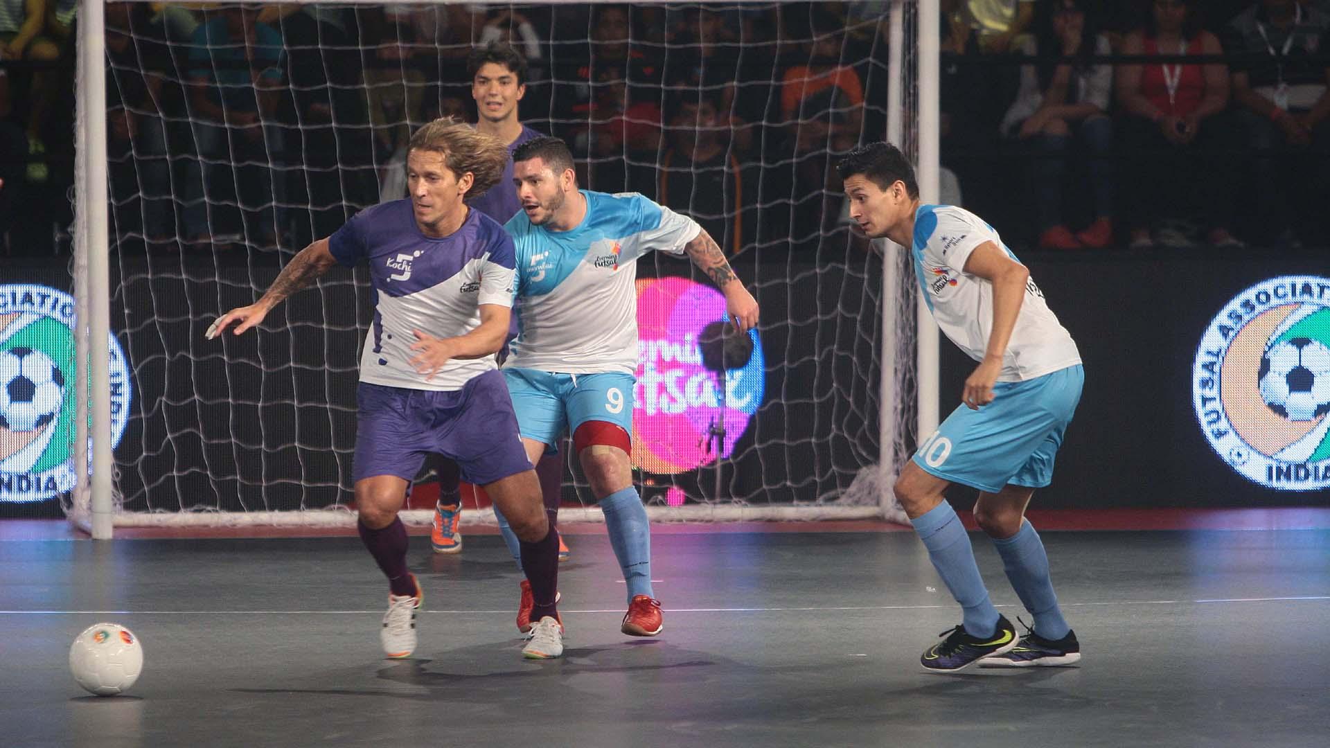 Kochi 5's Mumbai 5's Premier Futsal India