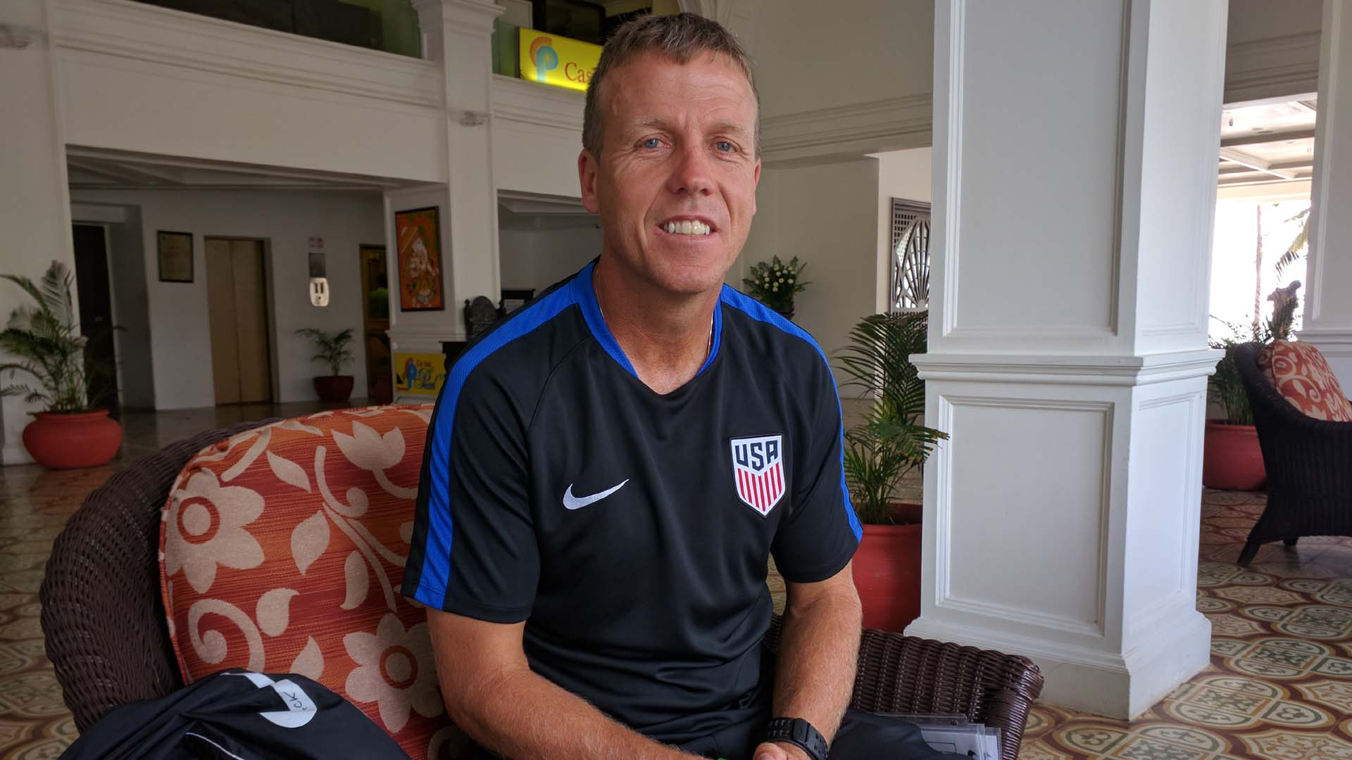 John Hackworth USA U-17 head coach