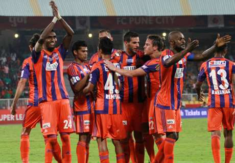 Pune City go top