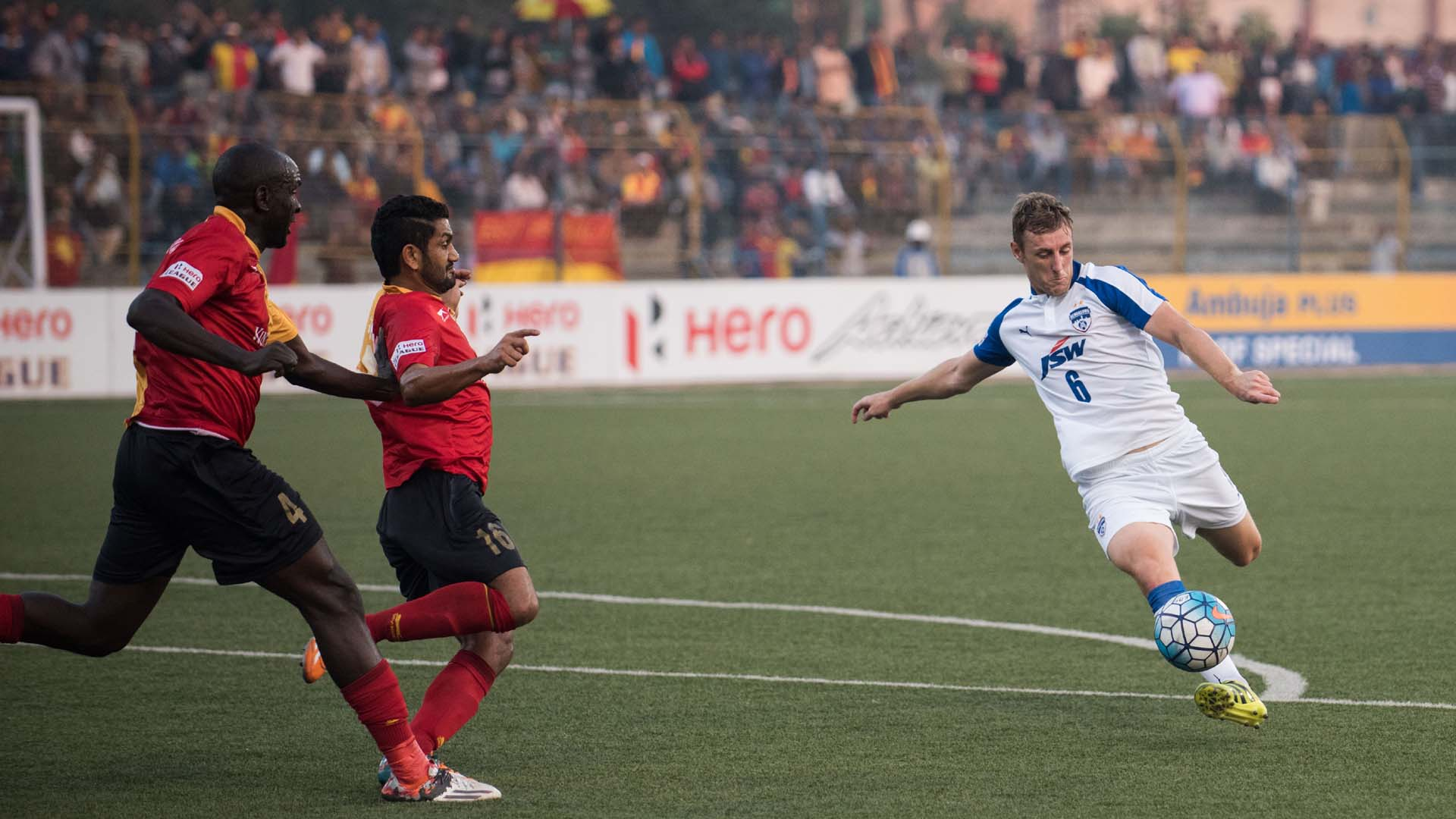 John Johnson East Bengal Bengaluru FC I-League 2017
