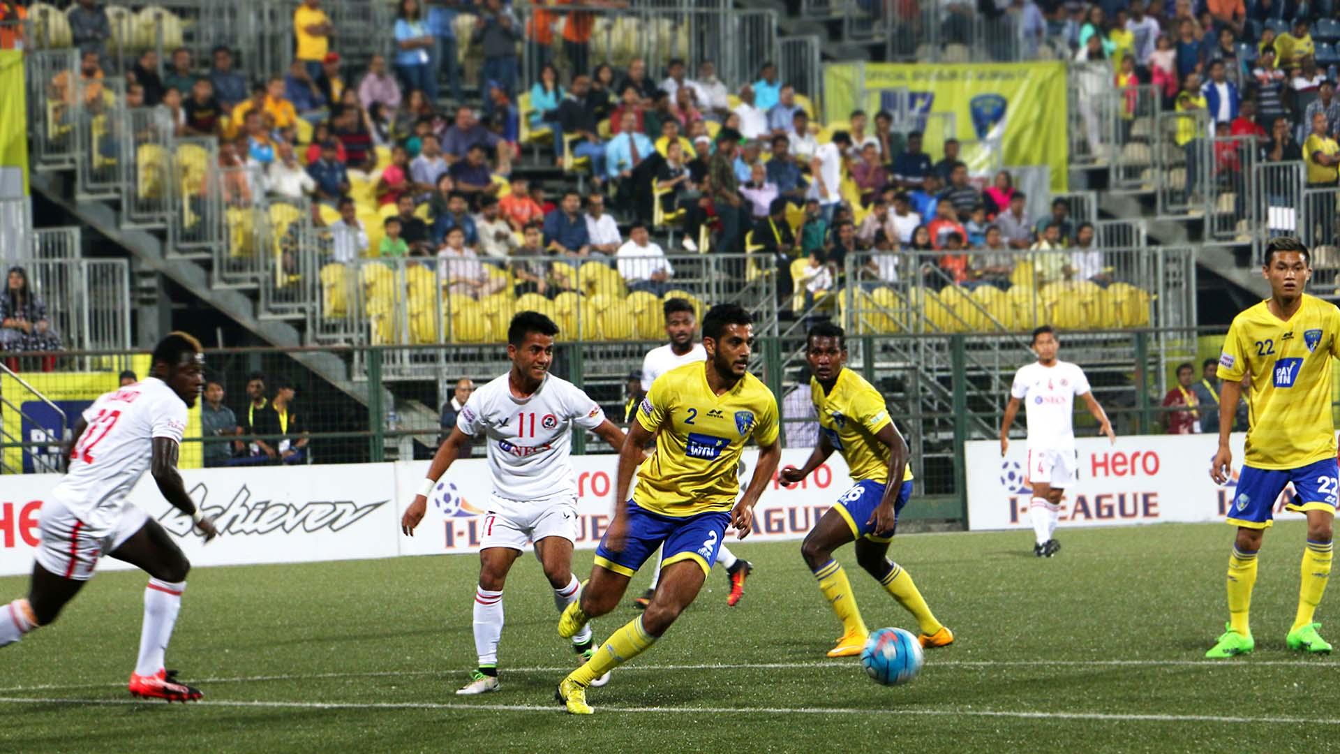 Pratik Chaudhari Mumbai FC Aizawl FC I-League 2017