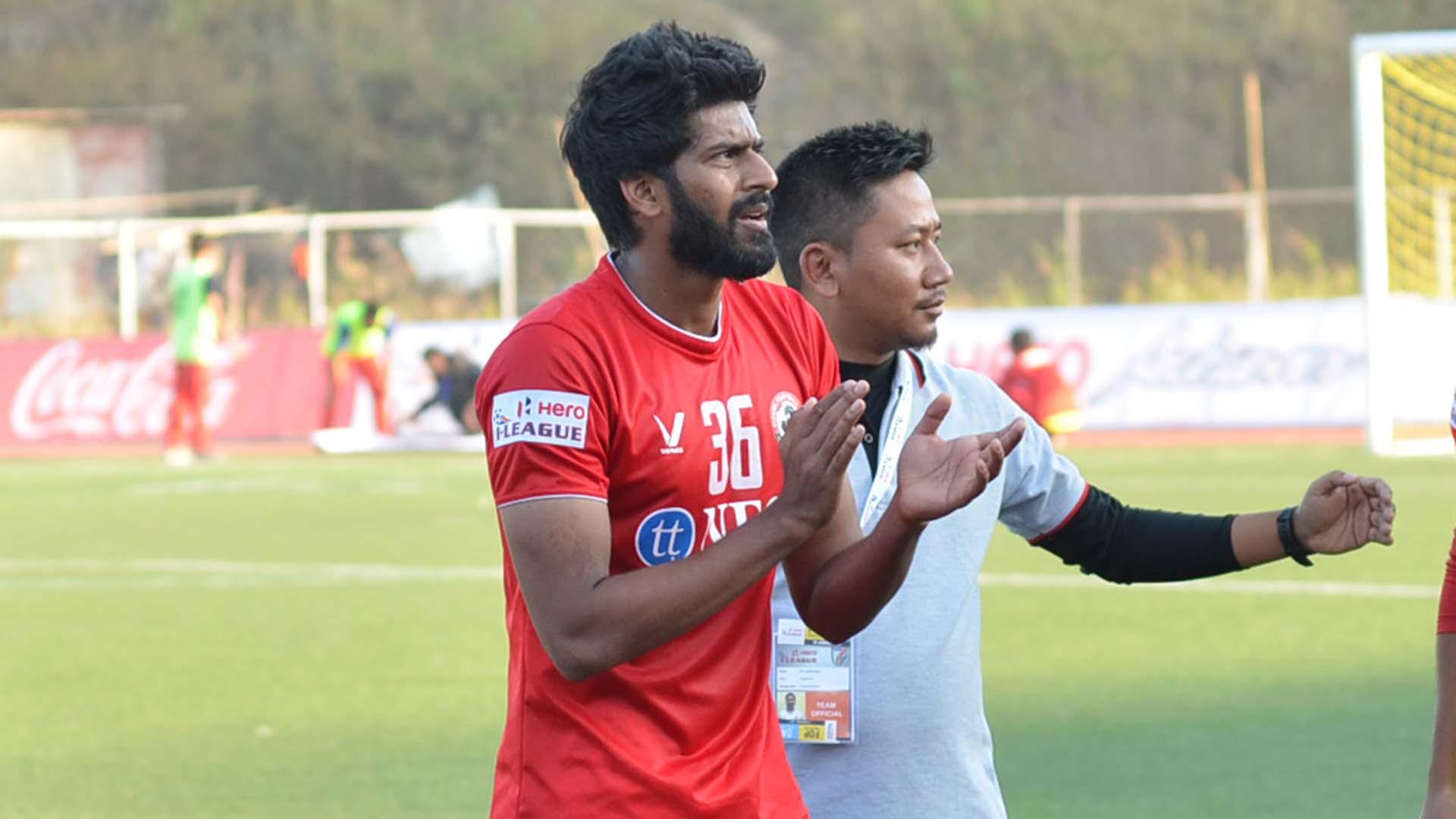 Ashutosh Mehta Aizawl FC DSK Shivajians FC I-League 2017