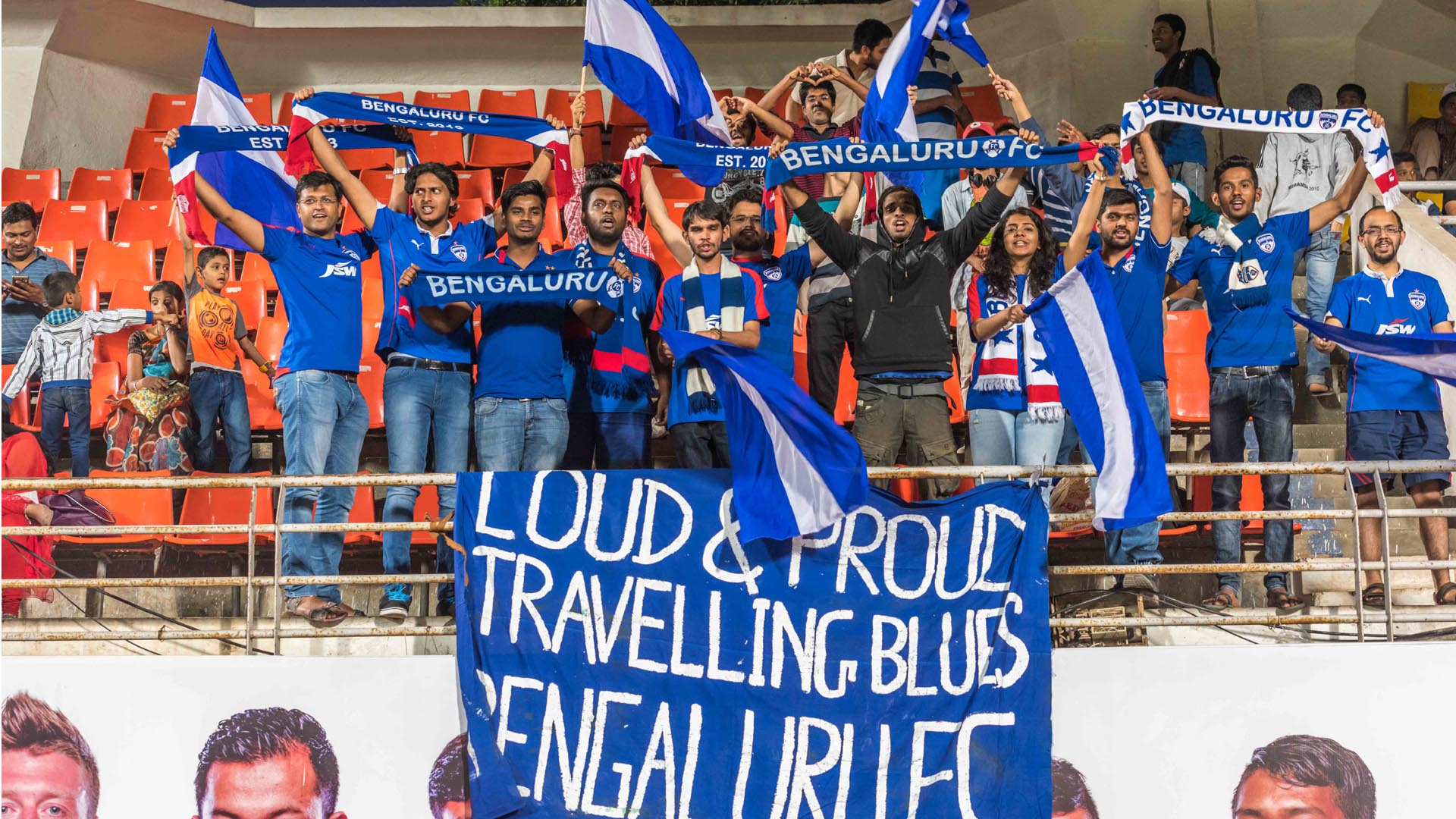 Bengaluru FC supporters I-League 2017