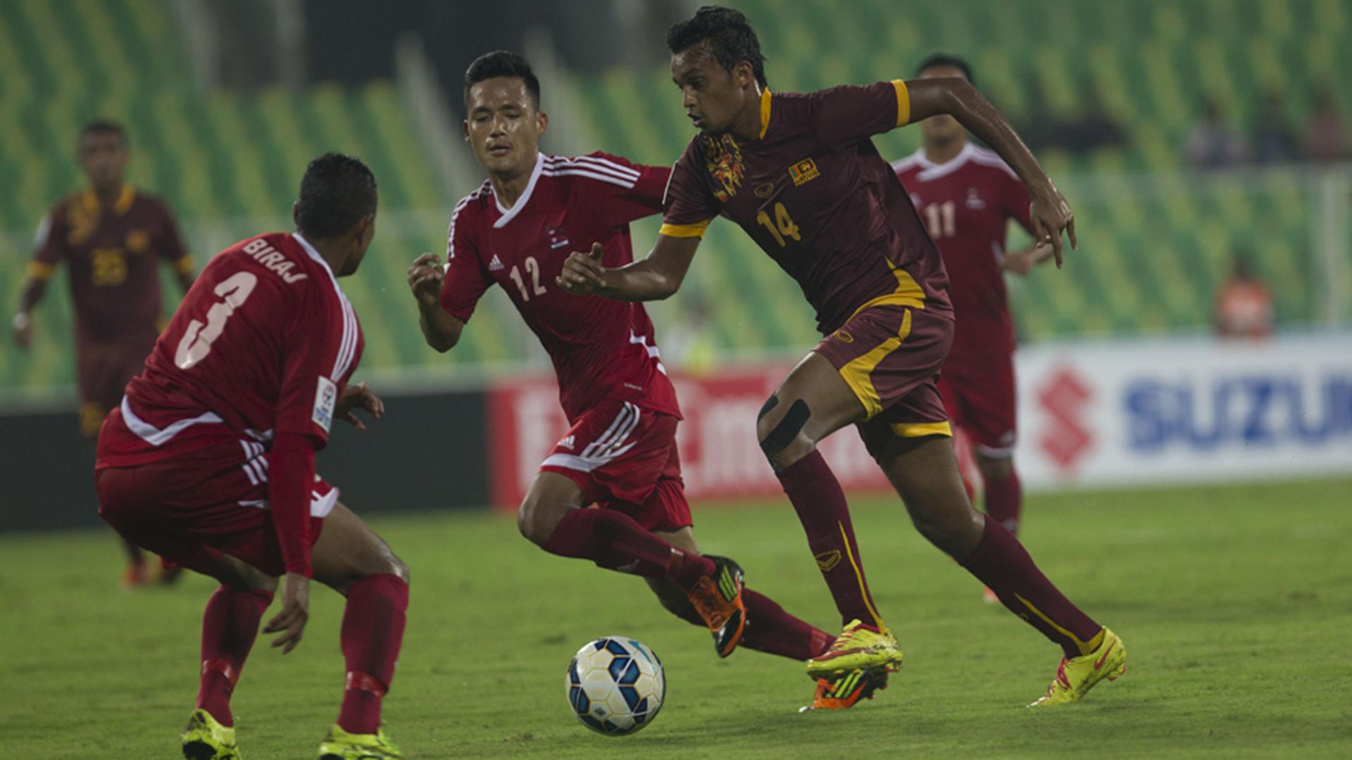 Nepal Sri Lanka SAFF Cup 2015