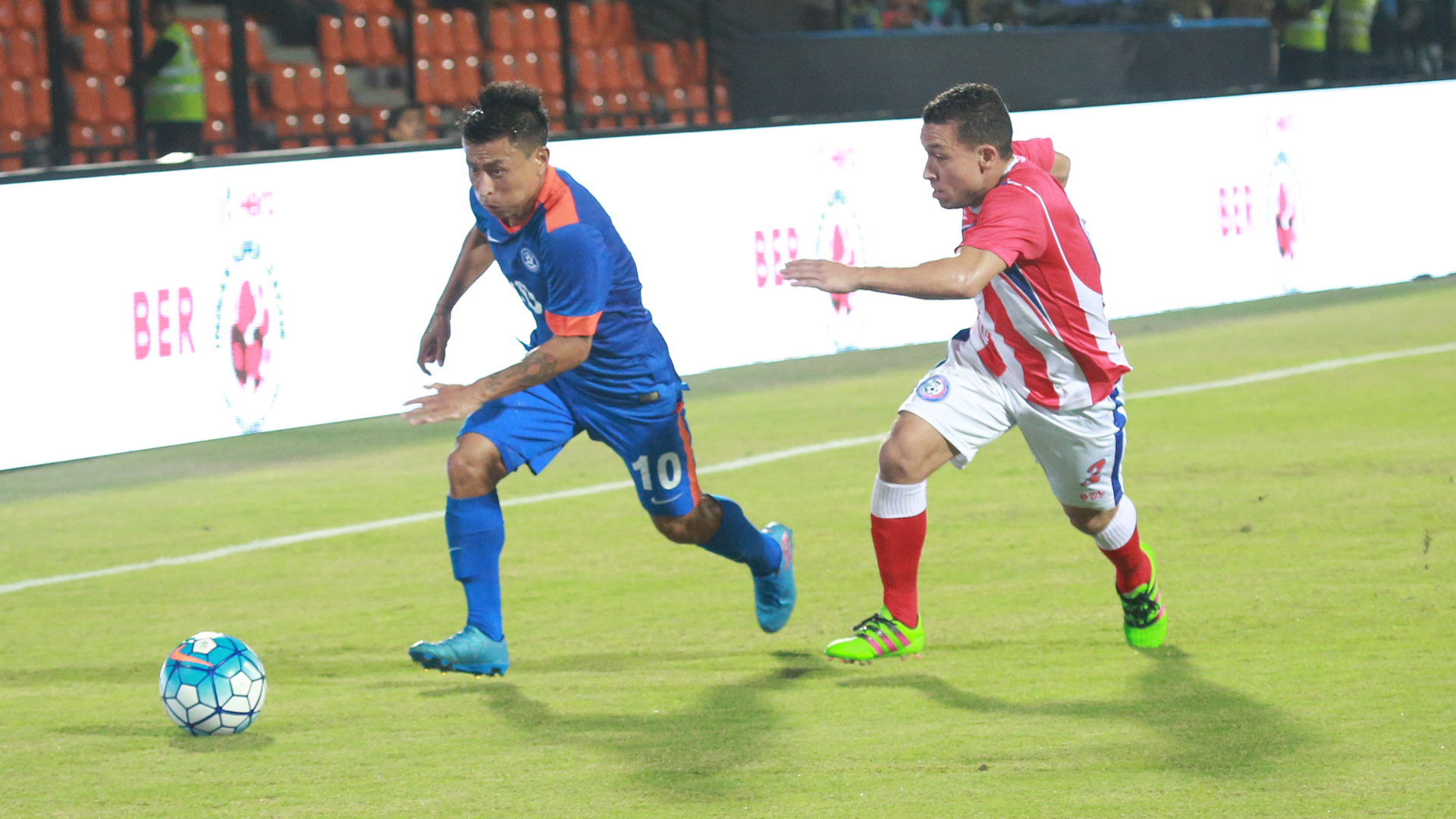 Chhetri strike ends India's 64-year-old jinx in Myanmar